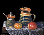 1245 Pottery with Fruit-2